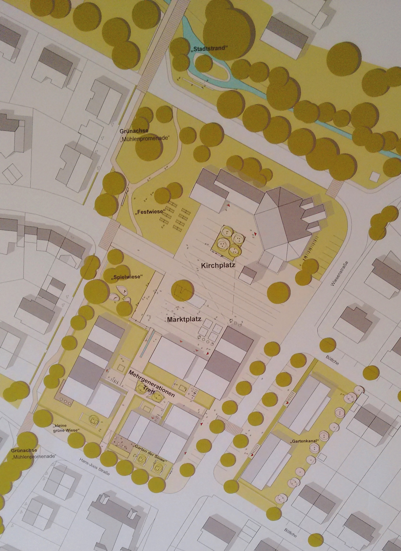 Entwurf 1001 Lageplan