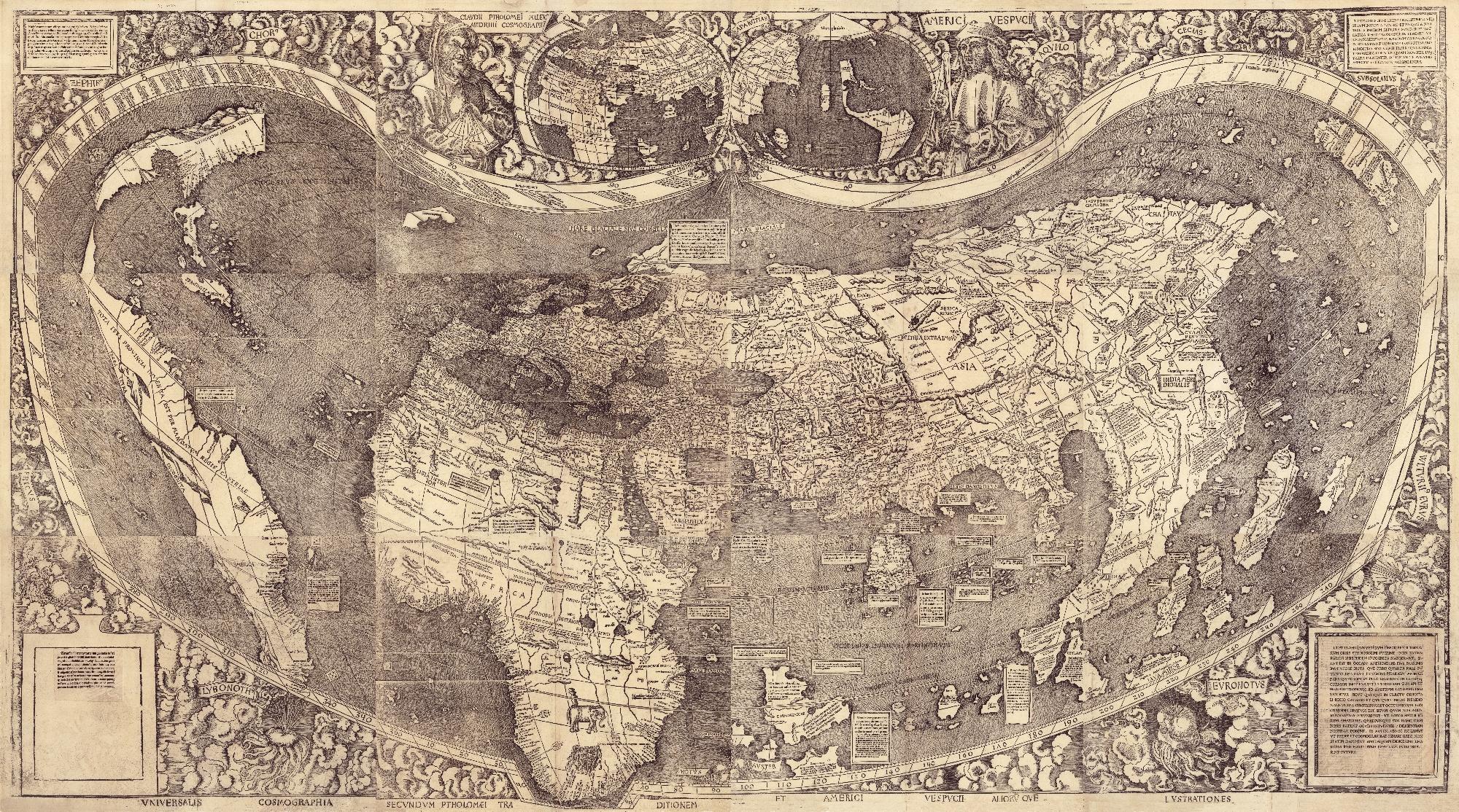 Waldseemüller Karte von 1507