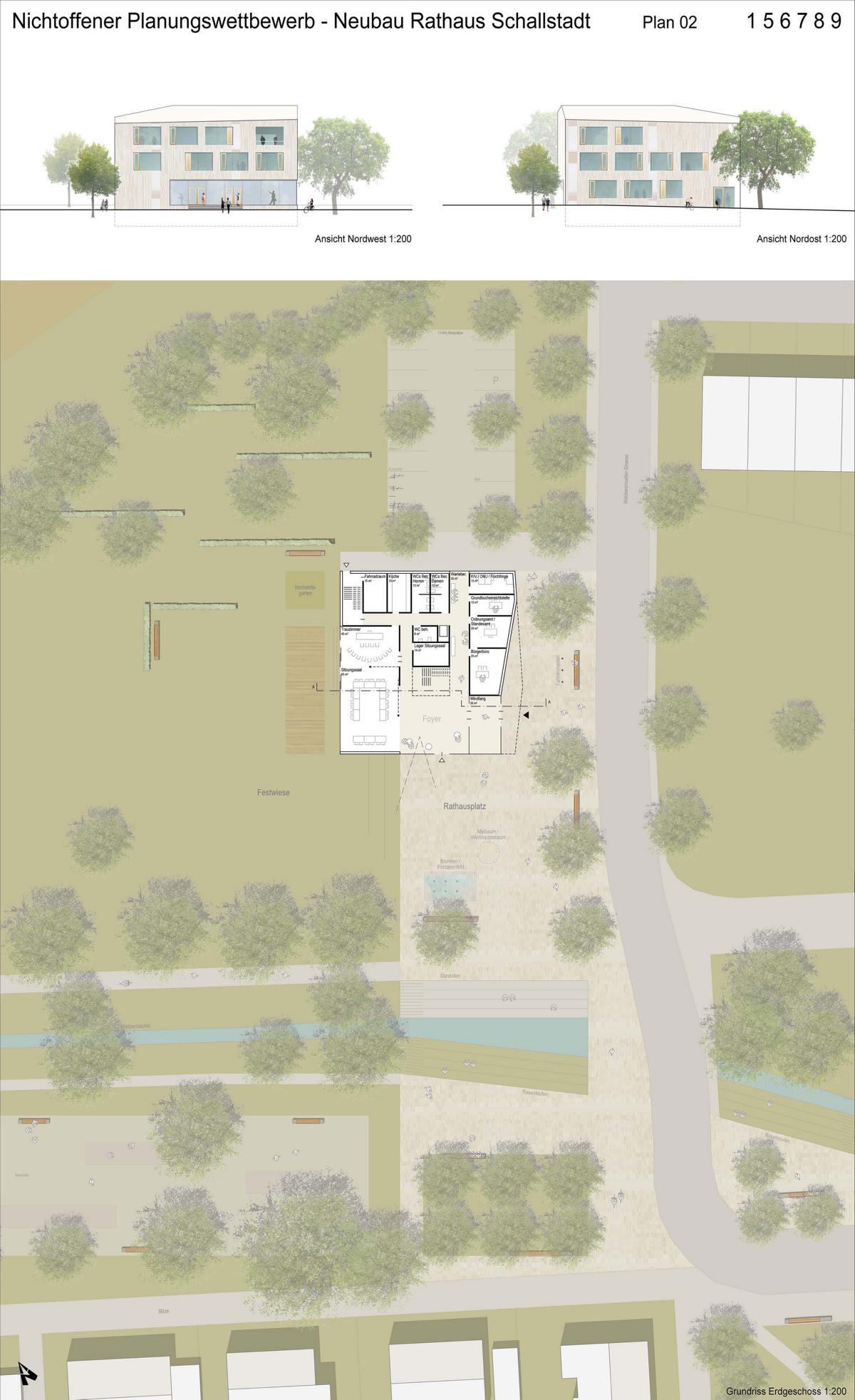 4.Preis_K9 Architekten+faktorgrün_Plan 2