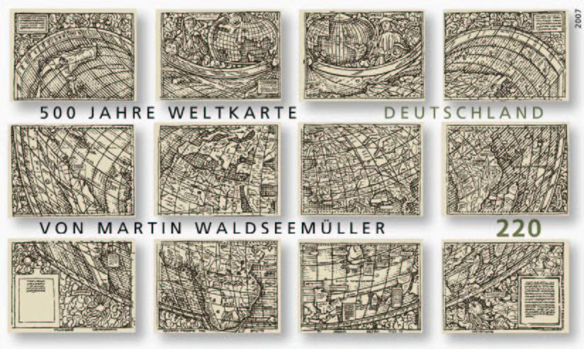 Waldseemüller Briefmarken