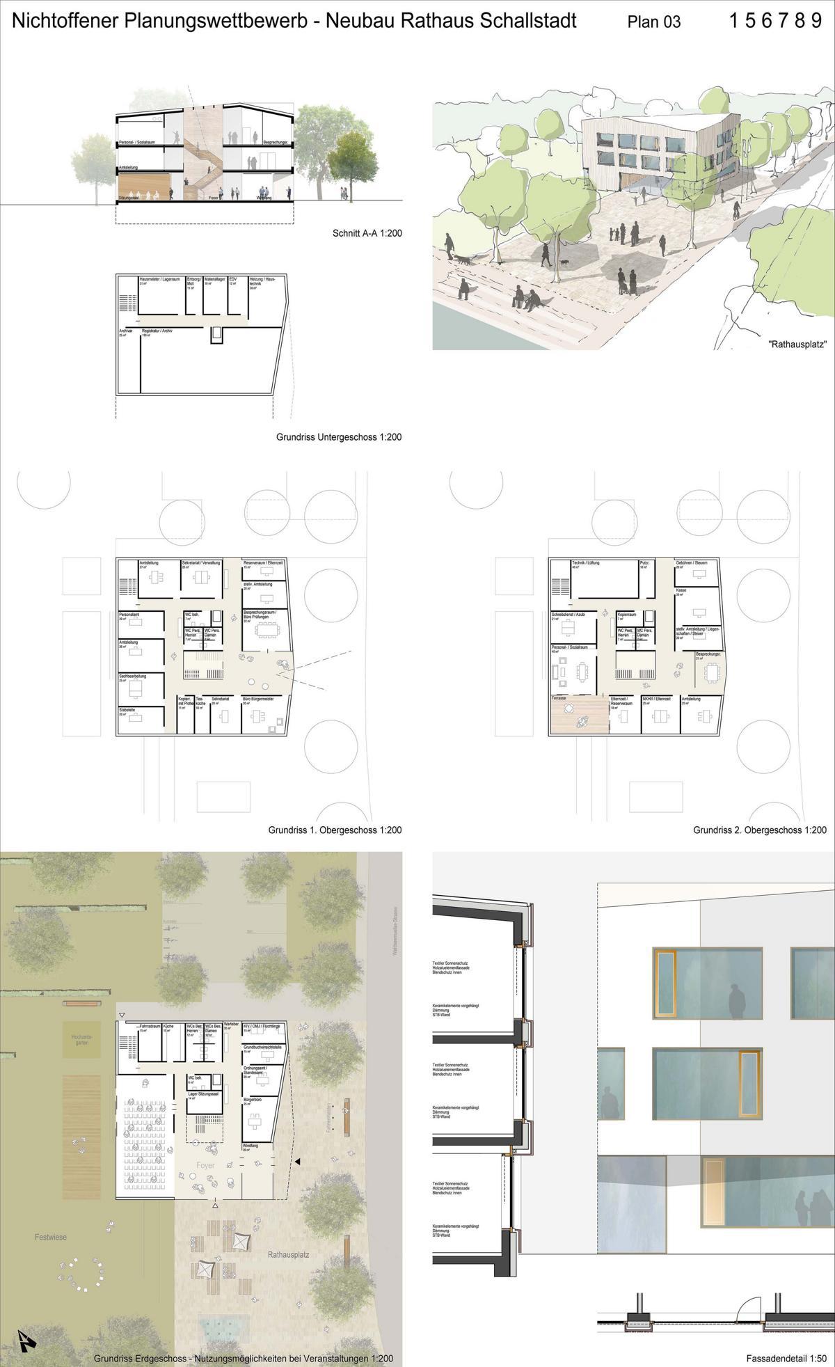 4.Preis_K9 Architekten+faktorgrün_Plan 3