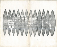 Faltglobus Waldseemüller