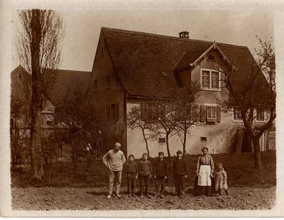Familie Bronner Anno 1951